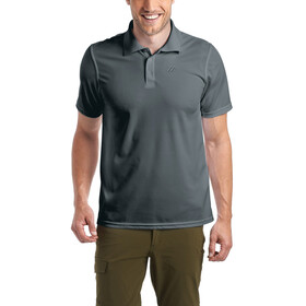 Maier Sports Ulrich Polo Herrer, graphite